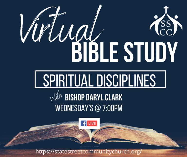 Wednesday night bible study flyer